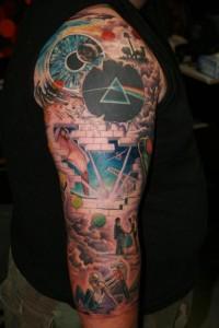 Us And Floyd Tribute Band Pink Floyd Tattoo Art Craze Revealed