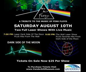 Us And Floyd Tribute Band   Vanderbilt Planetarium 7 PM